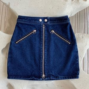 RAG & BONE DENIM SKIRT